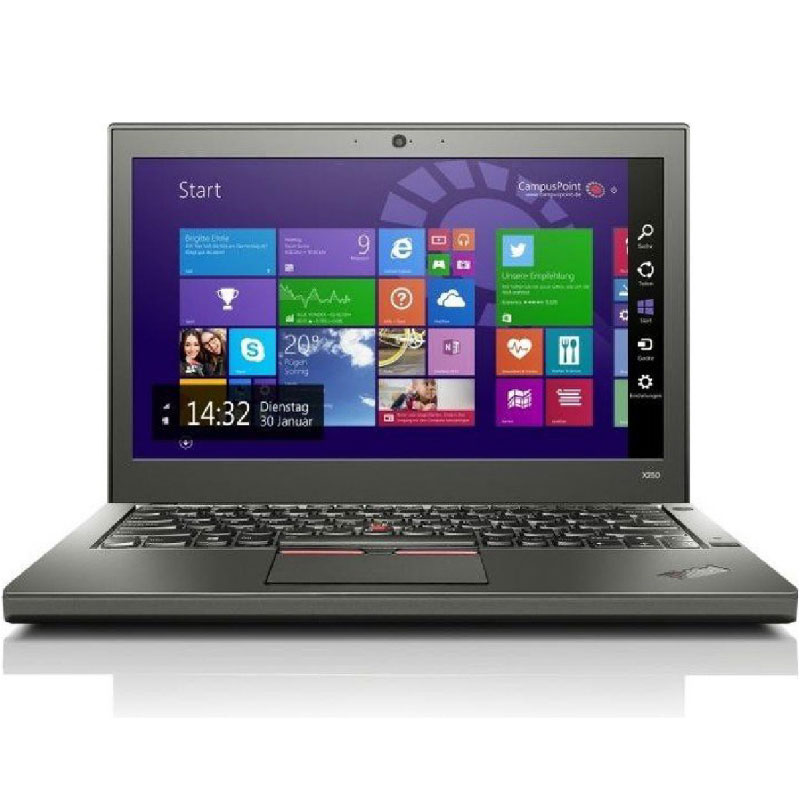 "Refurbished Lenovo Thinkpad X250 SSD Notebook A Grade OFF-LEASE Intel Core I5-5200U 2.20GHz 4GB 240GB 12.5"" NoDVD Win10"