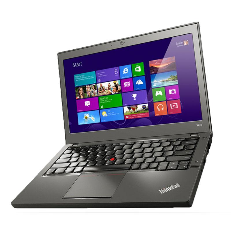 "Lenovo TRefurbished Lenovo Thinkpad X240 SSD Notebook A Grade OFF-LEASE Intel Core i5-4300u 1.90GHz 4GB 240GB SSD 12.1"" Display NoDVD Win10hinkpad X240 SSD Notebook"