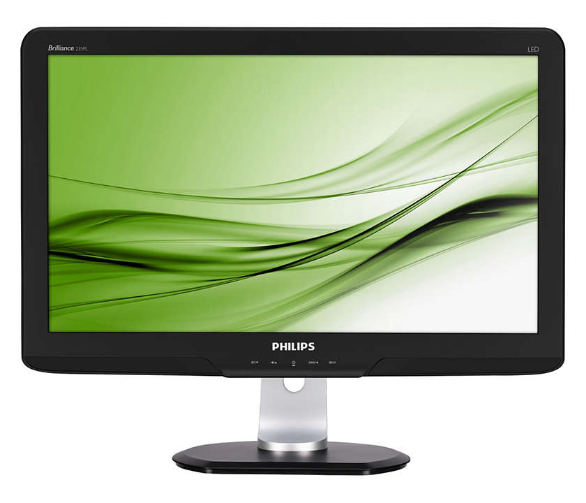 "Refurbished Philips 23."" (58.4 cm) Full HD Professional LED display with intelligent Power Sensor"